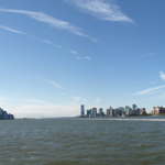 Panorama: New York City und Jersey City