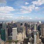 New York: Blick vom Empire State Building über die Stadt