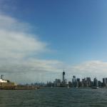 Freiheitsstatue und Manhattan