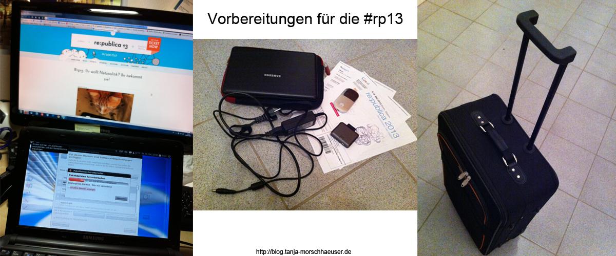 Ich packe meinen Koffer für die #rp13...