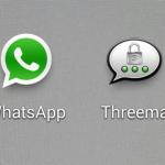 WhatsApp? Nein, ich nutze Threema.
