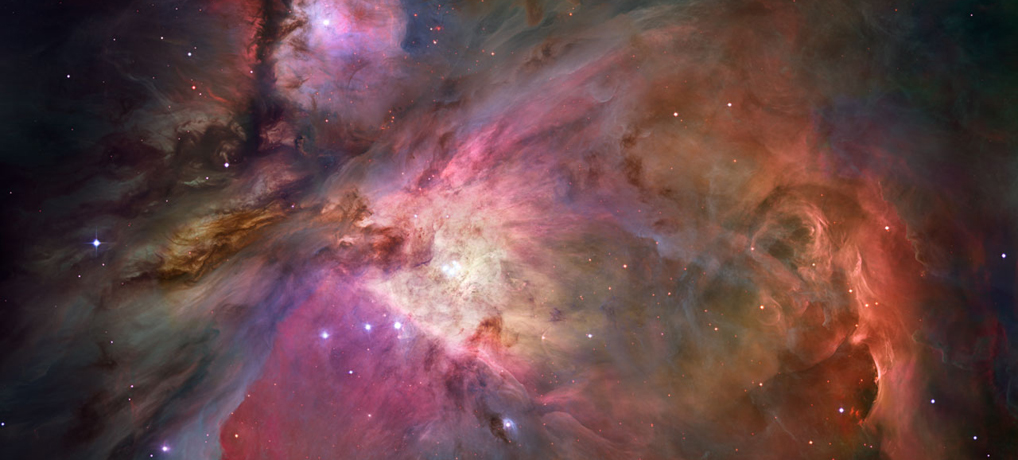 Der Orion-Nebel image courtesy of NASA