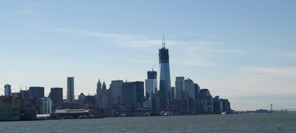 Hach, war das schön: Das erste Mal in den USA und dann gleich New York. Bild © Tanja Morschhäuser
