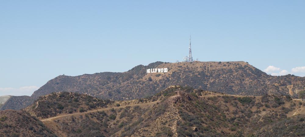 Das Hollywood Sign (gesehen vom Griffith Observatory aus). © Tanja Banner