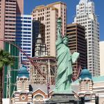 Mini-New-York in Las Vegas - inkl. Freiheitsstatue. © Tanja Banner