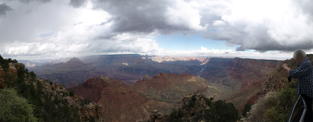 Panorama vom Grand Canyon. © Tanja Banner