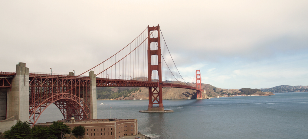 Golden Gate Bridge in San Francisco. © Tanja Banner